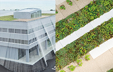 High-tech and eco architecture